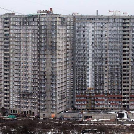 ЖК Петр Великий и Екатерина Великая вид с Советского проспекта